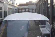 schermsticker wit vespa lx voor windscherm