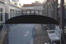 Windscherm sticker zwart
