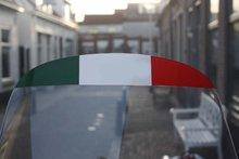 vespa tricolore italie windschermsticker schermsticker