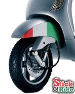 spatbord stickerset lx Vespa accessoires italië special