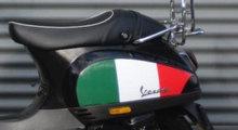 vespa stickerset italie schade special